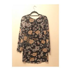 Lucca Couture Floral Shift Dress